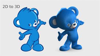 Difference between 2D, 3D and 4D   2D vs 3D vs 4D