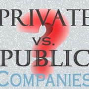different between private company and public Cloud computing comes in three forms: public clouds,  the lines between private and public  your saas vendor can create a private cloud just for your company.
