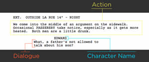 Screenwriting : Difference between a play and screenplay by Theresa Drew