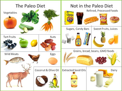 Difference between Paleo and Mediterranean Diet | Paleo ...