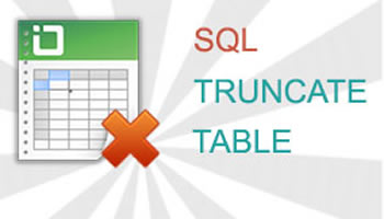 how to delete all rows from a table in sql