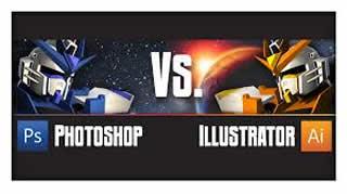 adobe illustrator photoshop difference