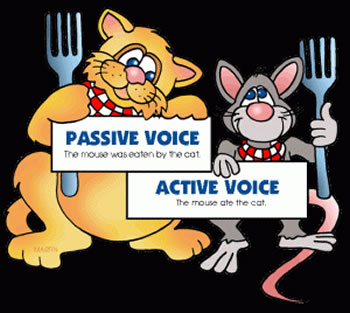 what does active voice mean