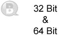 32 Bit and 64 Bit