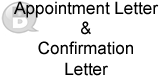Appointment Letter and Confirmation Letter