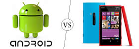 Difference between Android and Windows Phone