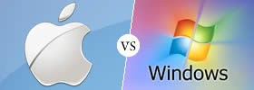 Difference between Apple and Windows