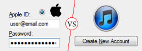 Difference between Apple ID and iTunes Account