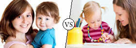 Difference between Babysitter and Childminder