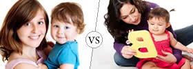 Difference between Babysitter and Nanny