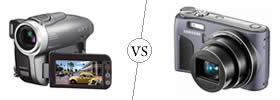 Difference between Camcorder and Digicam