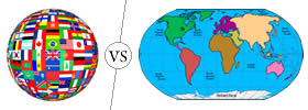 Difference between Country and Continent