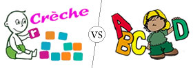 Difference between Crèche and Kindergarten