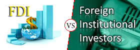 Difference between FDI and FII