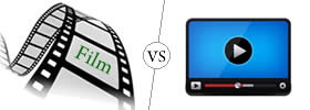 Difference between Film and Video