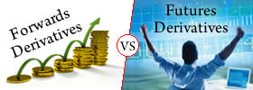 Difference between Forwards and Futures Derivatives