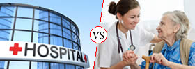 Difference between Hospital and Nursing Home