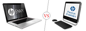 Difference between HP Envy and HP Pavilion Desktops