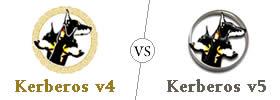 Difference between Kerberos v4 and Kerberos v5