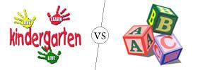 Difference between Kindergarten and Nursery