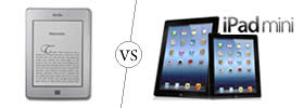 Difference between Kindle and iPad Mini