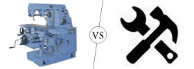 Difference between Machine and Equipment