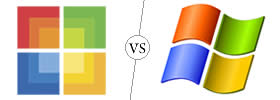 Difference between Microsoft and Windows