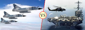 Difference between Navy and Air Force