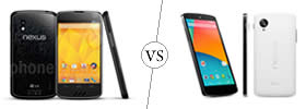Difference between Nexus 4 and Nexus 5