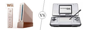 Difference between Nintendo Wii and DS