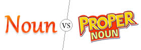 Difference between Noun and Proper Noun