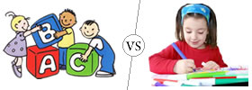 Difference between Nursery and Lower Kindergarten