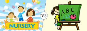 Difference between Nursery and Pre-nursery