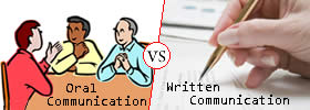 Difference between Oral Communication and Written Communication