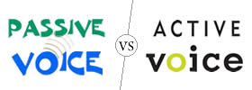 Difference between Passive Voice and Active Voice