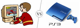 Difference between PC Games and PS3 Games