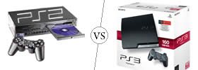 Difference between PlayStation 2 and PlayStation 3