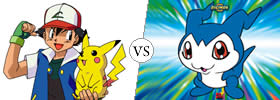Difference between Pokemon and Digimon