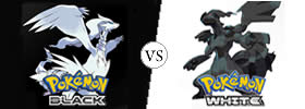 Difference between Pokemon Black and White