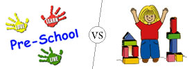 Difference between Preschool and Nursery