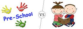 Difference between Preschool and Primary School
