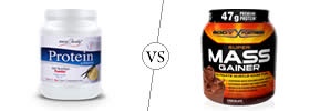 Difference between Protein and Mass Gainer