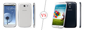 Difference between Samsung Galaxy S3 and Samsung Galaxy S4