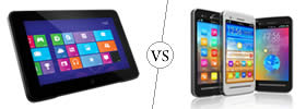 Difference between Tablet and Smartphone