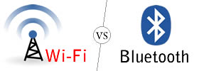 Difference between Wi-Fi and Bluetooth