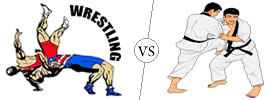 Difference between Wrestling and Judo