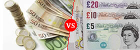 Euro vs Pound Currency