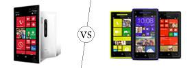 Nokia Lumia 928 vs HTC Windows 8X