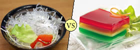 Difference between Agar and Gelatin
