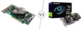 Difference between AGP and PCI Express Graphics Cards
